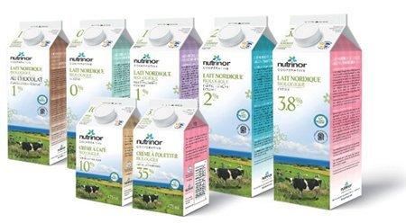 Lait nordique biologique de Nutrinor, premiers produits certifiés AgroBoreal